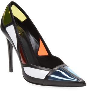 Aperlaï Women's Colorblock High Heel Sandal