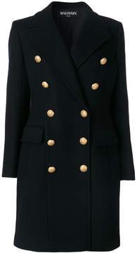 Balmain double-breasted blazer coat