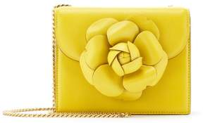 Oscar de la Renta Canary Leather Mini TRO Bag