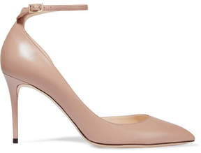 Jimmy Choo Lucy 85 Leather Pumps - Antique rose