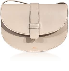 A.P.C. Eloise Beige Leather Shoulder Bag