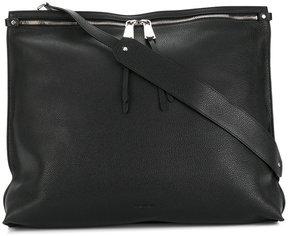 Jil Sander pebbled shoulder bag