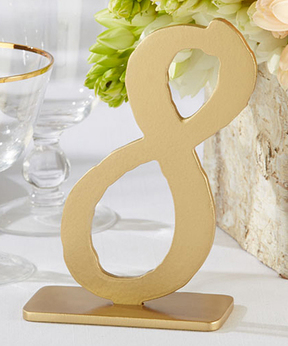 Good As Gold Classic Table Numbers 7 through 12
