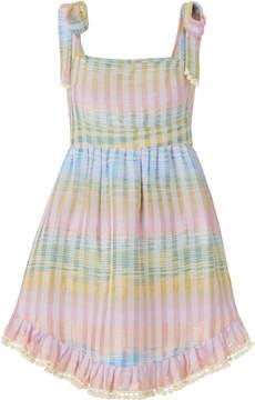 Athena Procopiou Cosmic Dancer Mini Pom-Pom Dress