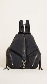 Rebecca Minkoff Medium Julian Backpack - BLACK - STYLE
