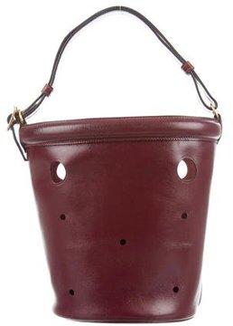 Hermes Box Mangeoire Bag - BURGUNDY - STYLE