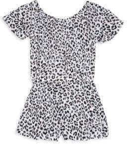 Splendid Toddler's& Little Girl's Allover Print Romper