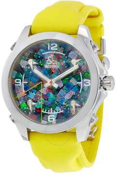 Jacob & co Jacob and Co. Five Time Zone Multi-Color Mother of Pearl Men's Watch