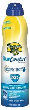 Banana Boat Sun Comfort Sunscreen Spray - SPF 30 - 6oz