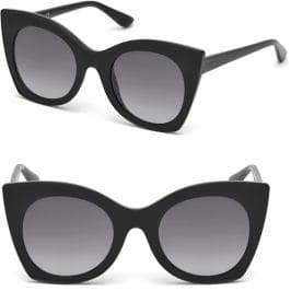 GUESS 51MM Butterfly Sunglasses