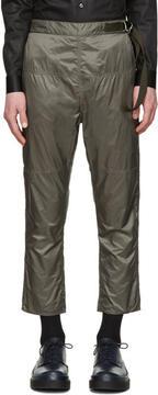 Jil Sander Grey Nylon Trousers