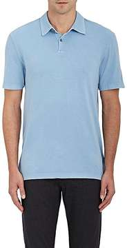 James Perse Men's Supima® Cotton Sueded Jersey Polo Shirt