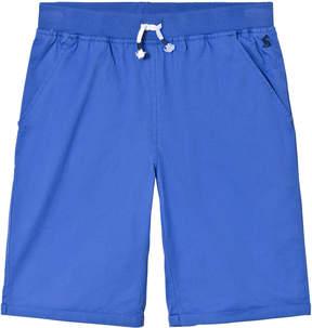 Joules Blue Drawstring Waist Woven Shorts