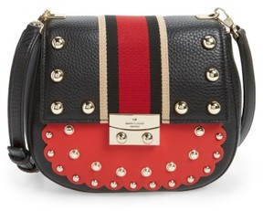Kate Spade New York Madison Stewart Street - Byrdie Studded Leather Satchel - Red