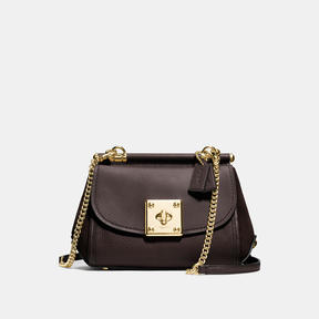 COACH Coach Drifter Crossbody - LIGHT GOLD/CHESTNUT - STYLE