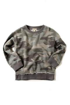 Appaman Grey Camo Sweatshirt