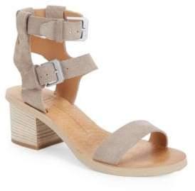 Dolce Vita West Suede Block Heel Sandals