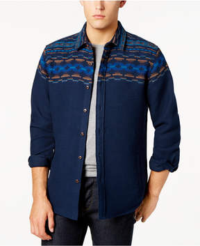 American Rag Men's Folk Geo-Print Shirt, Created for Macy's