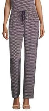 Peserico Silk Drawstring Pants