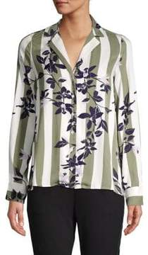 Vero Moda Printed Button-Down Shirt