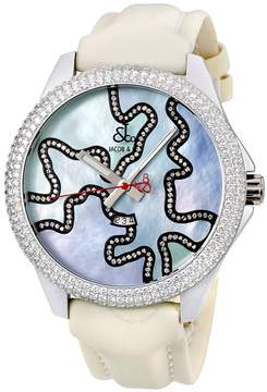 Jacob & co One Time Zone Mother of Pearl Diamond Unisex Watch