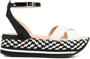 Hogan wedge sandals