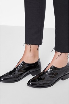 Anine Bing Channing Oxford Black Patent
