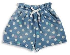 Flapdoodles Little Girl's Polka Dots Shorts