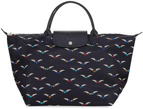 Longchamp Le Pliage Chevaux Ailes Large Tote Bag