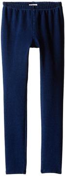 Splendid Littles Indigo Knit Leggings Girl's Casual Pants