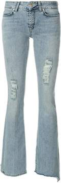 Dondup frayed bootcut jeans