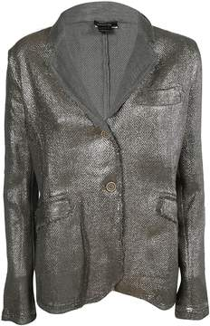 Avant Toi Metallic Glossy Blazer