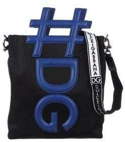 Dolce & Gabbana Dolce E Gabbana Men's Blue/black Polyamide Messenger Bag.
