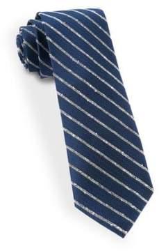 The Tie Bar Striped Silk Tie