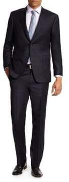 Saks Fifth Avenue COLLECTION BY SAMUELSOHN Basic Wool Suit