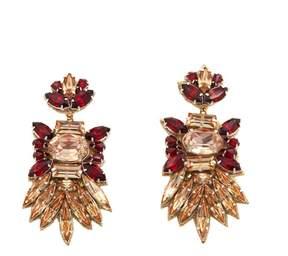 Deepa Gurnani deepa by Adria Elongated Beaded Drop Earrings