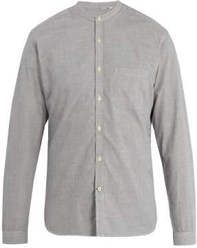 Oliver Spencer Broadstone grandad-collar striped cotton shirt