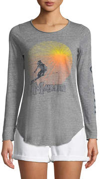 Chaser Ski Mammoth Graphic Long-Sleeve Tee