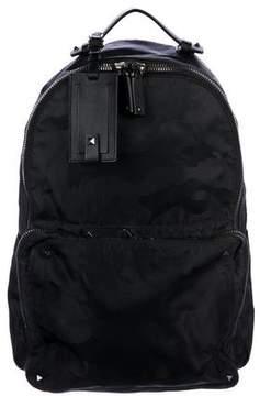 Valentino Rockstud Camouflage Backpack