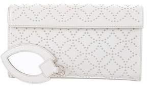 Alaia Arabesque Studded Clutch