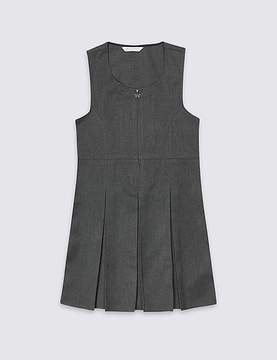Marks and Spencer PLUS Girls' Pinafore with Permanent Pleats