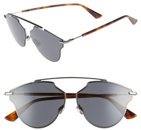 Christian Dior Women's 448 59Mm Sunglasses - Dark Ruthenium
