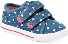 Carter's Nikki Printed Denim Sneakers, Toddler & Little Girls (4.5-3)