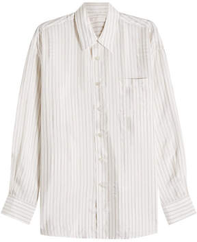 Our Legacy Borrowed Striped Cotton Shirt