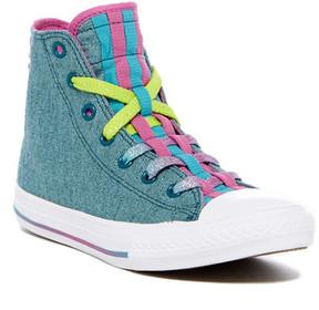 Converse Chuck Taylor All Star Loopholes Hi-Top Sneaker (Little Kid & Big Kid)