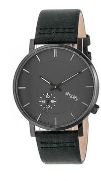 Simplify The 3600 Collection SIM3606 Gunmetal Analog Watch