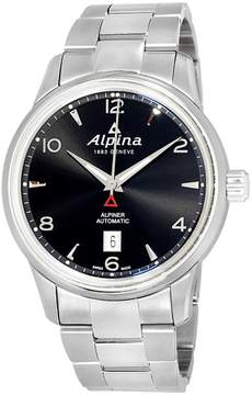 Alpina Alpiner AL525B4E6B Black Dial Stainless Steel 42mm Mens Watch