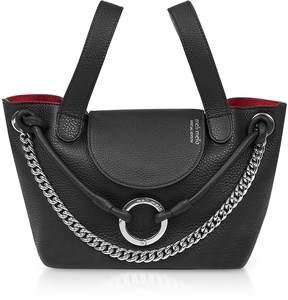 Meli-Melo Black Linked Thela Mini Bag