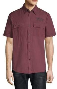 Affliction Territorial Cotton Button-Down Shirt