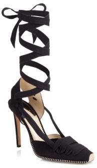 Altuzarra d'Orsay Espadrille Stiletto Heel Sandals